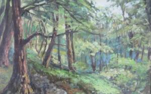 bosques de la serie de los Apalaches EEUU|Pinturadejose luis fernandez sanchez| Compra arte en Flecha.es