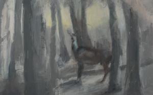 Cervatillo|PinturadePilar Álvarez| Compra arte en Flecha.es