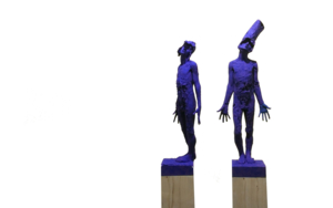 Feeling Blue|EsculturadeÁlvaro de Matías| Compra arte en Flecha.es
