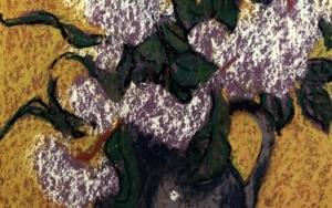 Laurel sobre Fondo Amarillo|PinturadeSara Chamón| Compra arte en Flecha.es
