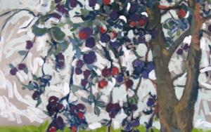 Ciruelo Generoso|PinturadeSara Chamón| Compra arte en Flecha.es