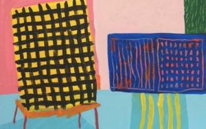 Chaise Jaune|PinturadeAna Cano Brookbank| Compra arte en Flecha.es