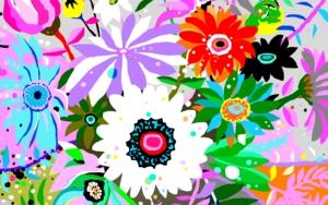 Flores para María DigitaldeALEJOS  Compra arte en Flecha.es