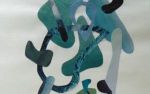 Mapografia laguna CollagedeFabiana Zapata  Compra arte en Flecha.es