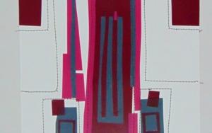 No pixel vino tinto CollagedeFabiana Zapata  Compra arte en Flecha.es