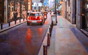 Calle Barquillo. Madrid|PinturadeBALSERA| Compra arte en Flecha.es