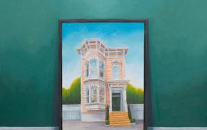 La Conversación II|PinturadeRosa Alamo| Compra arte en Flecha.es