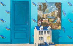 La Habitación Turquesa de La Tempestad|PinturadeRosa Alamo| Compra arte en Flecha.es