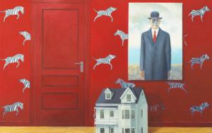 La Habitación Roja del Hijo del Hombre|PinturadeRosa Alamo| Compra arte en Flecha.es