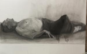 Viaje astral|DibujodeIgnacio Mateos| Compra arte en Flecha.es
