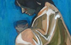 Ángel|PinturadeSara Chamón| Compra arte en Flecha.es