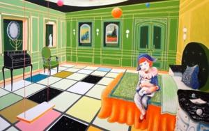 Arlequina|PinturadeALEJOS| Compra arte en Flecha.es