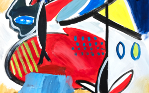 Abstracción, forma y color.|PinturadeMaciej Cieśla| Compra arte en Flecha.es
