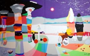 Mi Santuario PinturadeALEJOS  Compra arte en Flecha.es