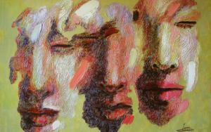 Viento, (Serie Diáspora)|PinturadeJuan Chamizo| Compra arte en Flecha.es