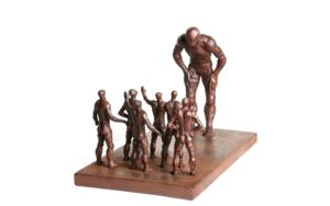 DIFERENTES EsculturadeFernando Suárez  Compra arte en Flecha.es
