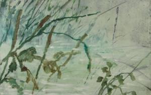 RIBERA EN VERDE|PinturadeAna Zaragozá| Compra arte en Flecha.es