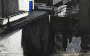 """DÉJAME ENTRAR""|PinturadeLaura Valcárcel| Compra arte en Flecha.es"