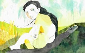 Chorar o demo|DibujodeReme Remedios| Compra arte en Flecha.es
