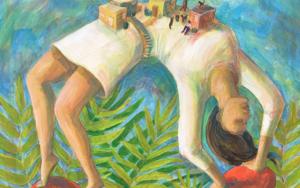 Asentamiento Humano|PinturadeLuz Letts| Compra arte en Flecha.es