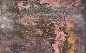 Composición con cráters PinturadeEnric Correa  Compra arte en Flecha.es