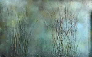 Juncos II|PinturadeEnric Correa| Compra arte en Flecha.es