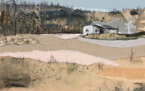 Entre colinas de pinos|PinturadeEduardo Query| Compra arte en Flecha.es