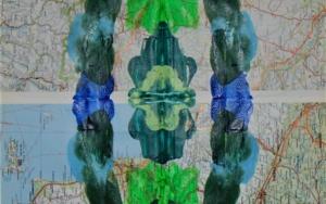 Impronta #3 (Rio sin agua)|CollagedeFabiana Zapata| Compra arte en Flecha.es
