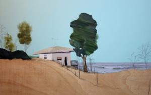 Un día azul|CollagedeEduardo Query| Compra arte en Flecha.es