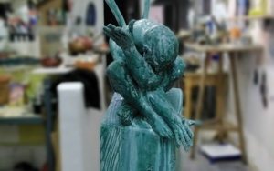 No interrumpáis is sueños.|EsculturadeReula| Compra arte en Flecha.es