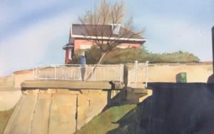 Mirador de Ereaga PinturadeChela Grijelmo  Compra arte en Flecha.es