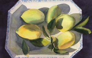 Limones PinturadeChela Grijelmo  Compra arte en Flecha.es