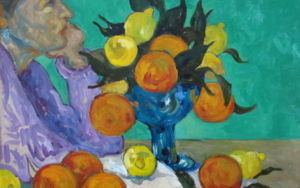 Novia con Naranjas|PinturadeSara Chamón| Compra arte en Flecha.es