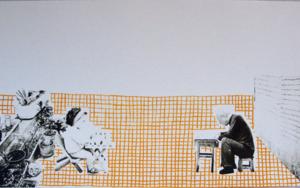 La cuadrícula Obra gráficadeAna Valenciano  Compra arte en Flecha.es