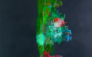 VERDE Y NOCHE|PinturadeALFREDO MOLERO DOVAL| Compra arte en Flecha.es