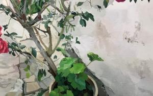 Rosal I|PinturadeAntonio Barahona| Compra arte en Flecha.es