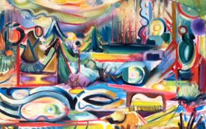 Naturaleza, abstracción, forma y color. Nature in abstract painting forms|PinturadeMaciej Cieśla| Compra arte en Flecha.es