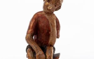 Espera que no le den plantón.  Serie Los que esperan|EsculturadeAna Valenciano| Compra arte en Flecha.es