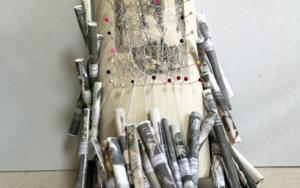 Encaje.  Libro de artista|Obra gráficadeAna Valenciano| Compra arte en Flecha.es
