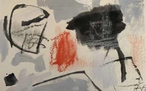En el espejo|PinturadeEduardo Vega de Seoane| Compra arte en Flecha.es