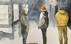 VIAJES IV|DibujodeMenchu Uroz| Compra arte en Flecha.es