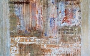 Composición abstracta PinturadeEnric Correa  Compra arte en Flecha.es
