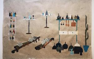 Damajuanas y Vinos|CollagedeMero Pil Pil| Compra arte en Flecha.es