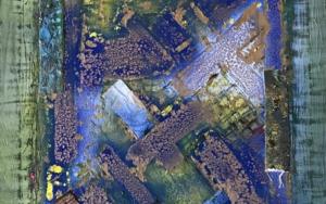 Ventana abstracta PinturadeEnric Correa  Compra arte en Flecha.es