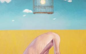 De la extraordinaria y magnifica ausencia de uno mismo PinturadeJuan Mateo Cabrera  Compra arte en Flecha.es