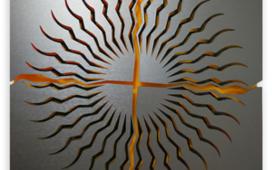 THE SUN|CollagedeGeometricarte| Compra arte en Flecha.es