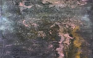 Composición con cráters|PinturadeEnric Correa| Compra arte en Flecha.es