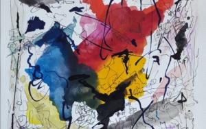 Chopin - Estudio Op. 10, no.3 (Tristesse)|PinturadeValeriano Cortázar| Compra arte en Flecha.es
