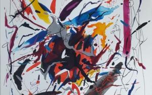 Chopin - Nocturne Op 55 no.1|PinturadeValeriano Cortázar| Compra arte en Flecha.es