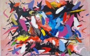 Héctor BERLIOZ – Sinfonía Fantástica (Op. 14)|PinturadeValeriano Cortázar| Compra arte en Flecha.es